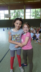 Kinder haben Freude am Sport